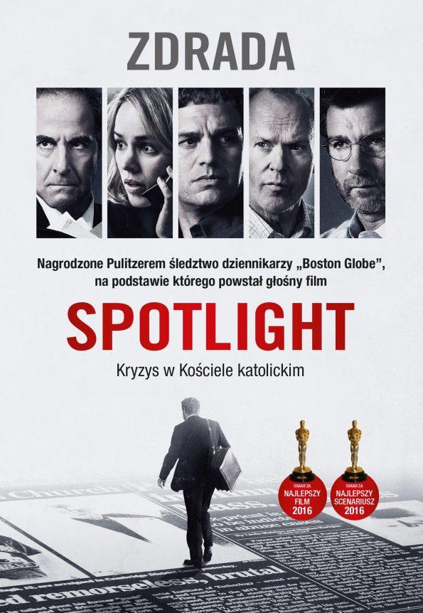 Spotlight-Zdrada-książka